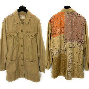 Free People We The Free Swept Up Shirt Jacket Fawn